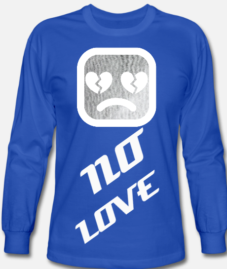 Image of NOLOVE Long Sleeve T-Shirt (Royal Blue)