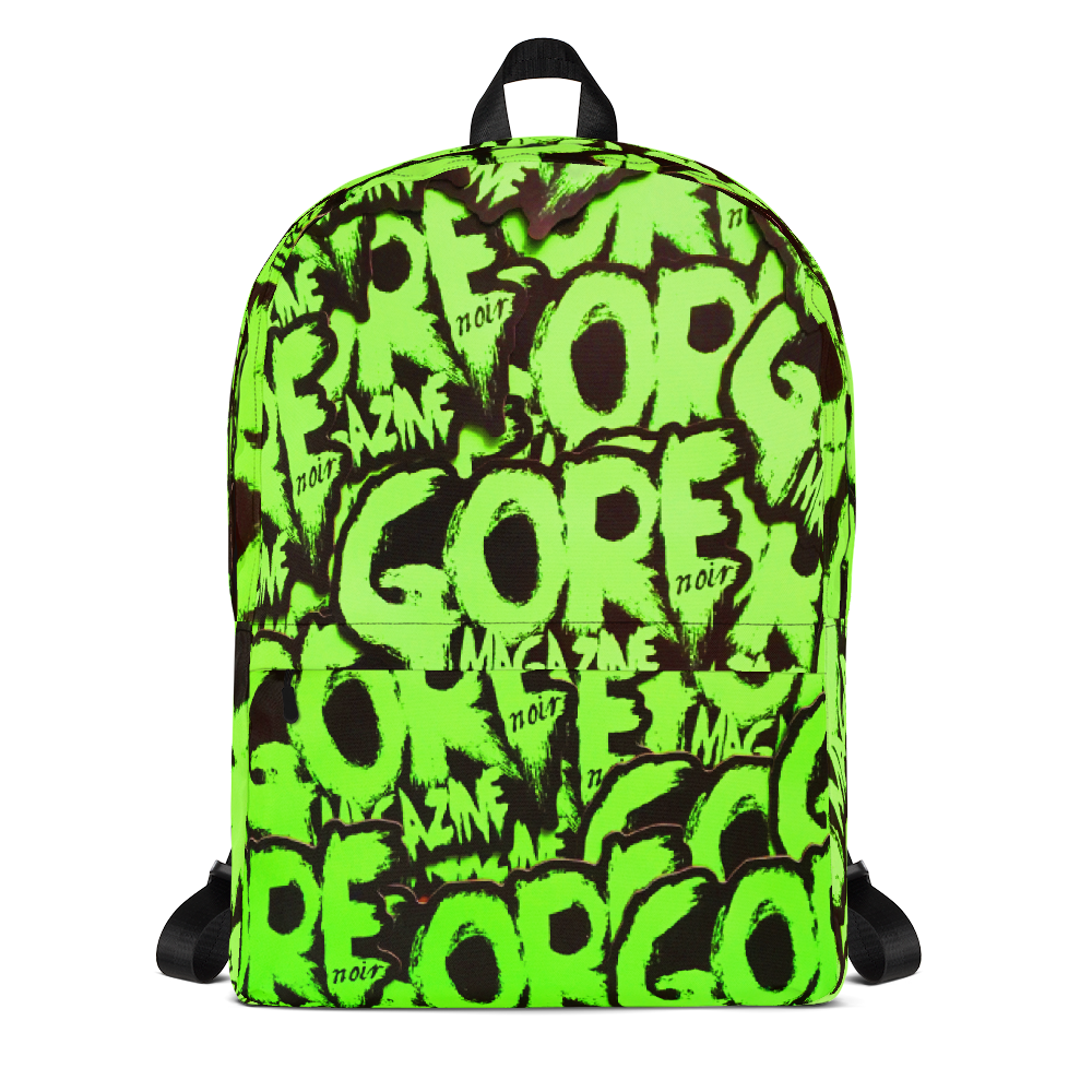 Image of Green Gore Logo Backpack