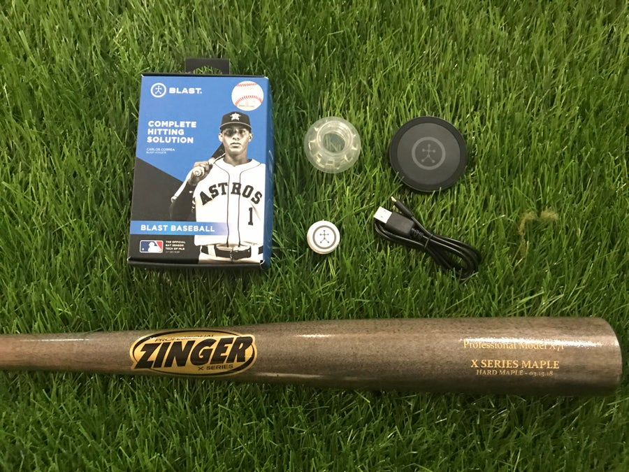 "Image of Zinger ""BLAST"" Pack w/ Bat & Sensor - Save $70"