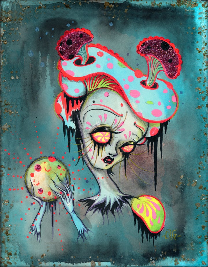 """Image of """"The Echo of The Moon"""" limited edition print"""