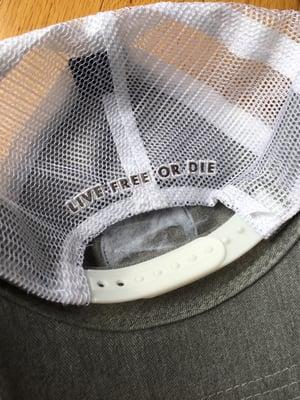 Image of Grey/white Campfire Logo Trucker Hat