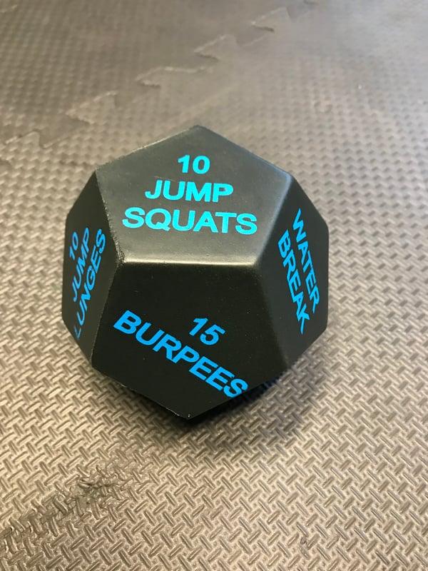 Image of Fitness Fun Dice