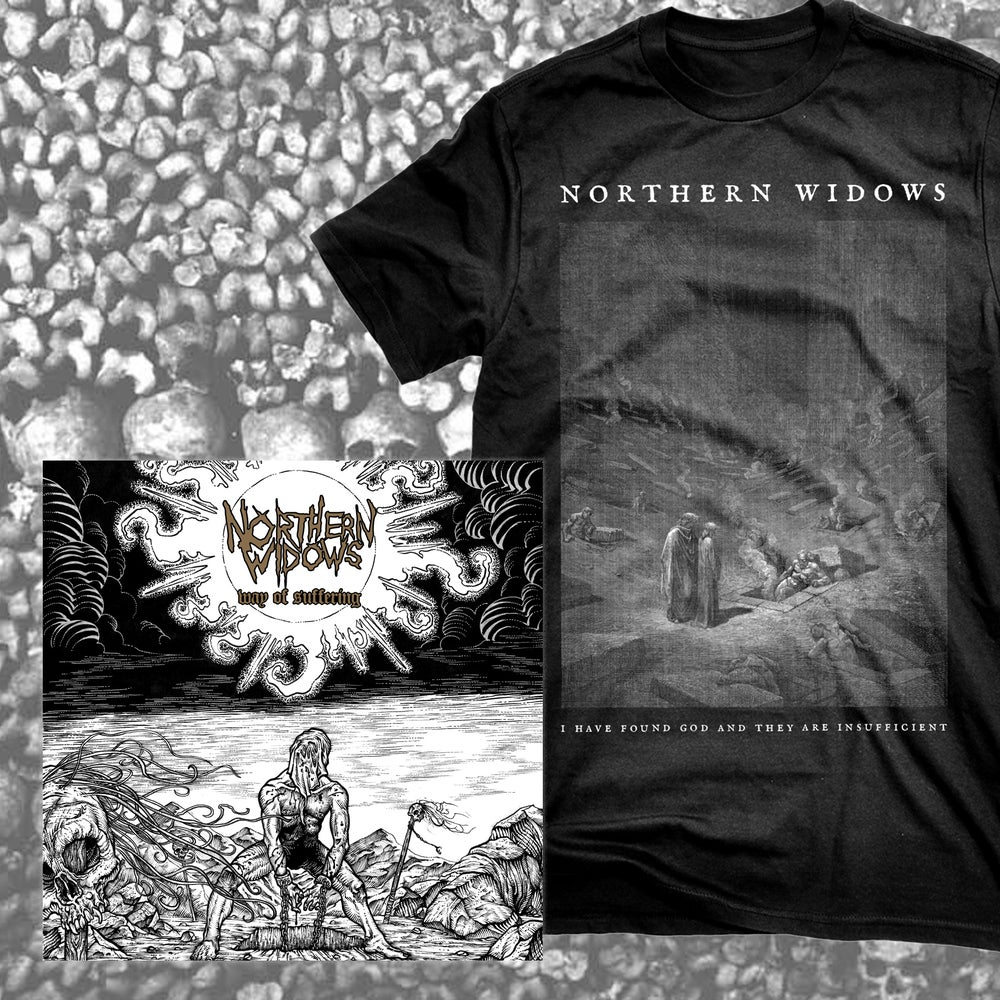 Image of Northern Widows - Way Of Suffering LP + Shirt Bundle