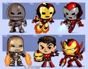 Image of Evolution of Iron Man