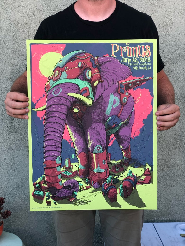 Image of Primus - Avila Beach 6.28.18 SOUR APPLE