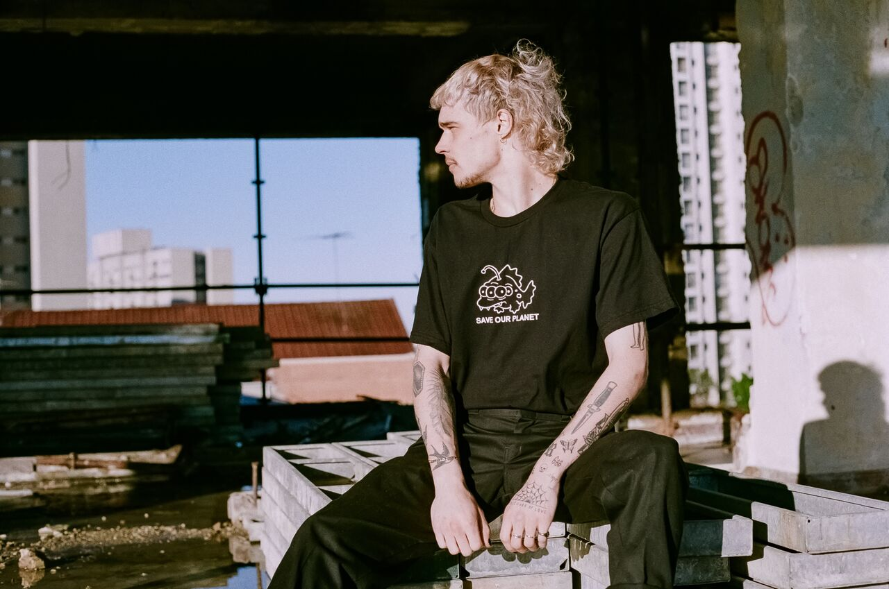 Image of Save Our Planet Tee (Black)