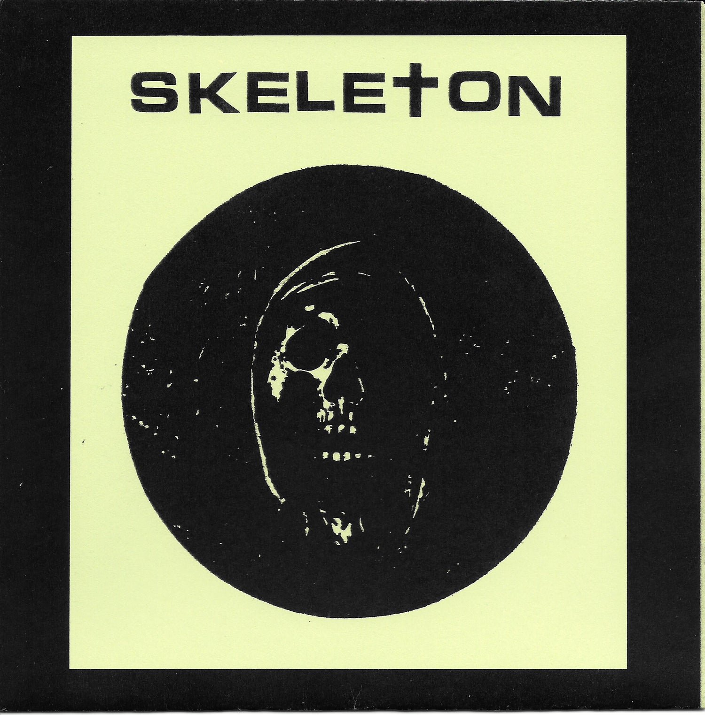 Image of Skeleton I Hate I Skate flexi + Pyramid of Skull EP bundle