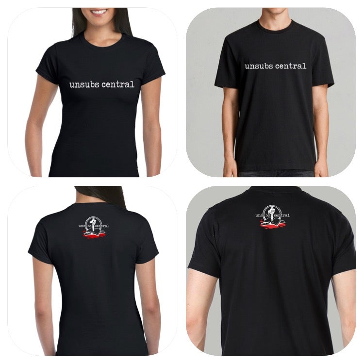 Image of Unsubs Central Book & Film Logo Shirt