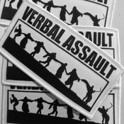 Image of Verbal Assault embroidered Patch