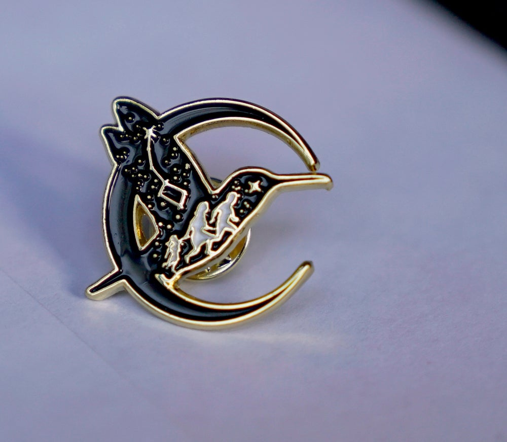 Image of Polaris Andino Lapel Pin (for Colibri Center)