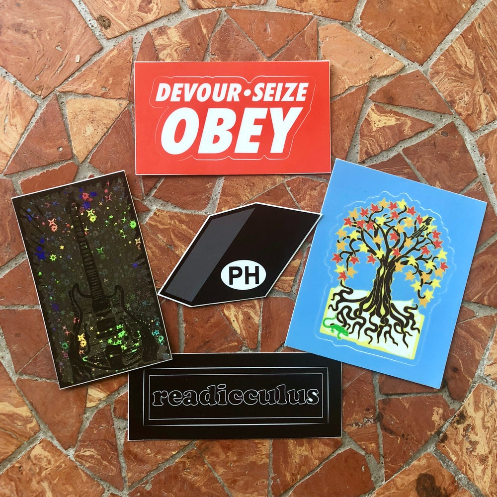 Image of Phish sticker pack