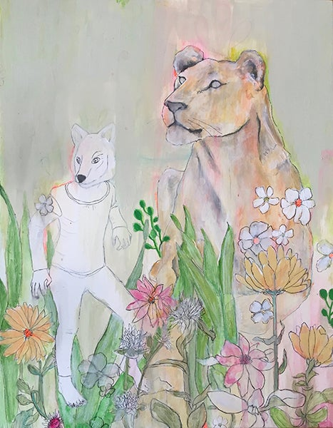 "Image of New! Julia Marchand ""Stalkers Too"" Print"