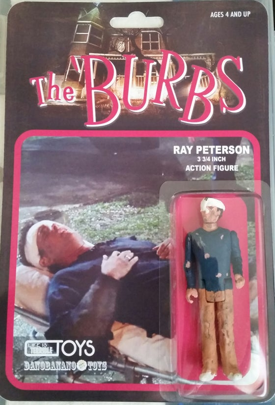 Image of Tom Hanks as Ray Peterson Collaboration with Dano Brown 3.75 action figure