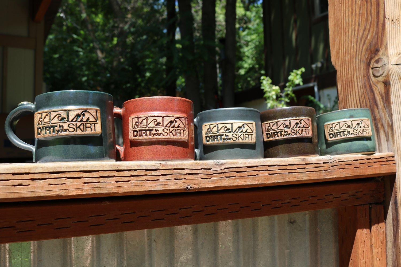 Image of Dirt in Your Skirt Handmade Mugs