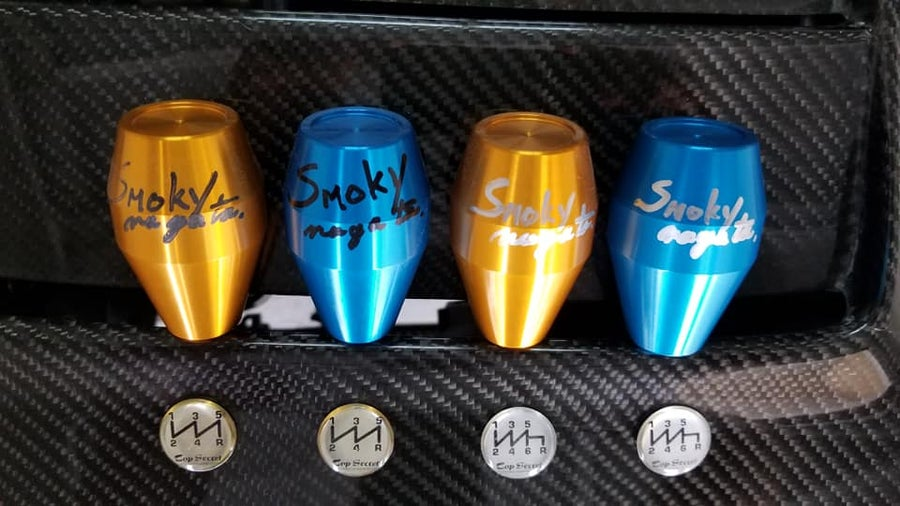 Image of Top Secret Japan Autogrpahed Shift knobs  by Smoky Nagata