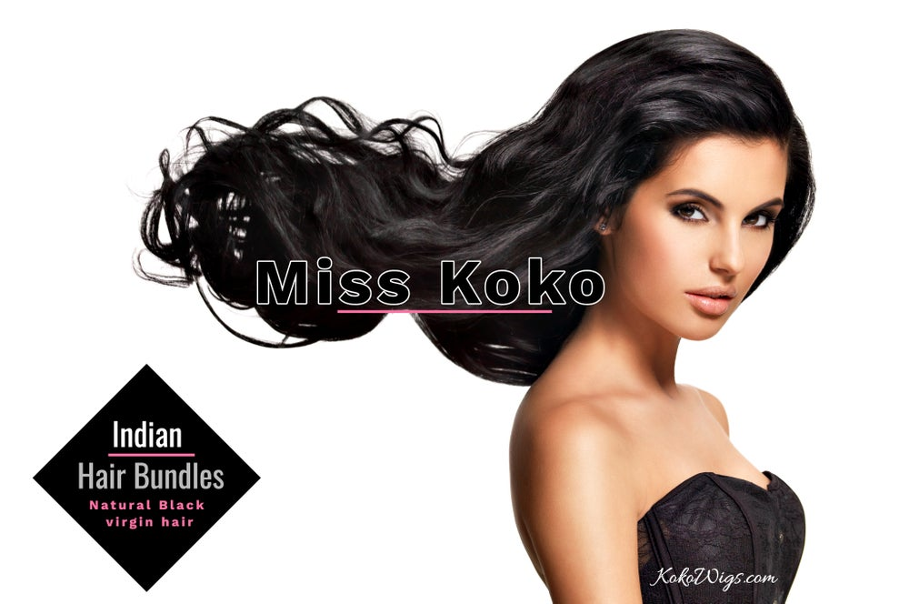 Image of KOKO Hair Bundles (Natural Brown) 100 grams 3.5 oz