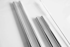 Image of Family pack straws - silver
