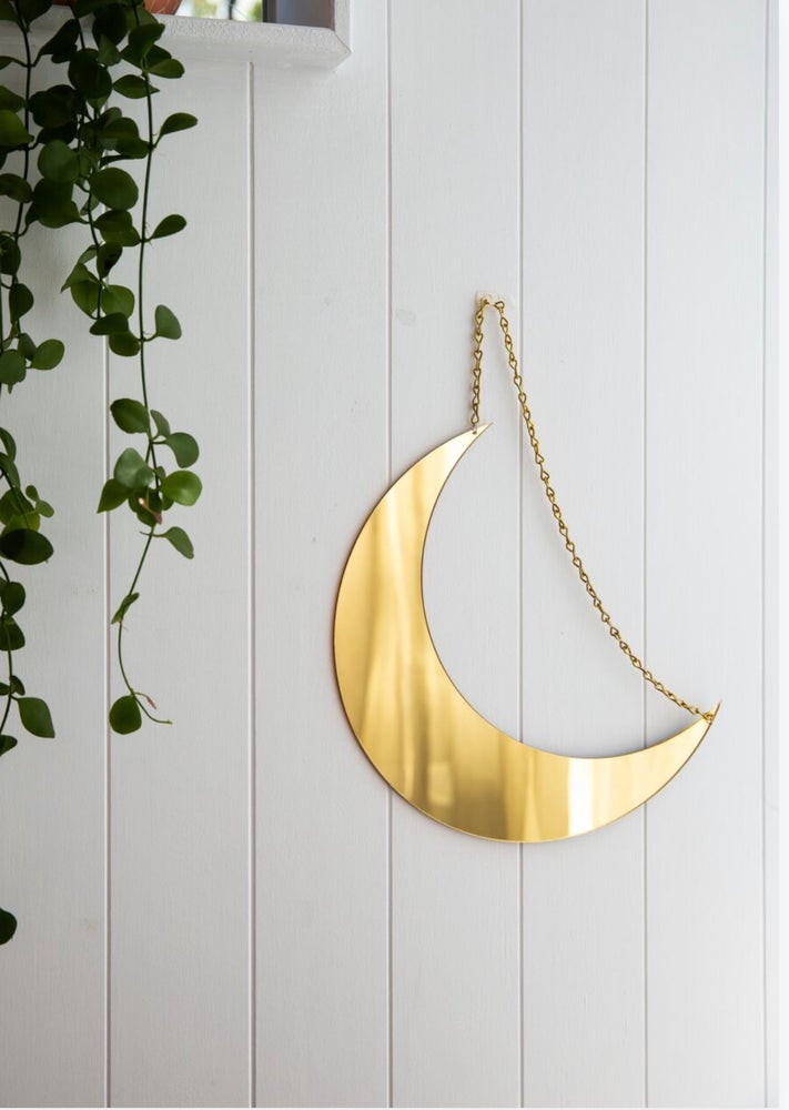 Image of NEW MOON - GOLD MIRROR