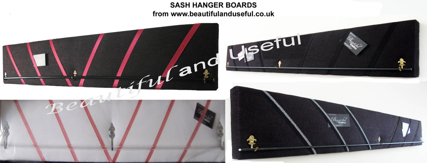 Image of Pageant Sash Hanger  Display Boards