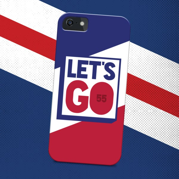 Image of Let's Go phone case
