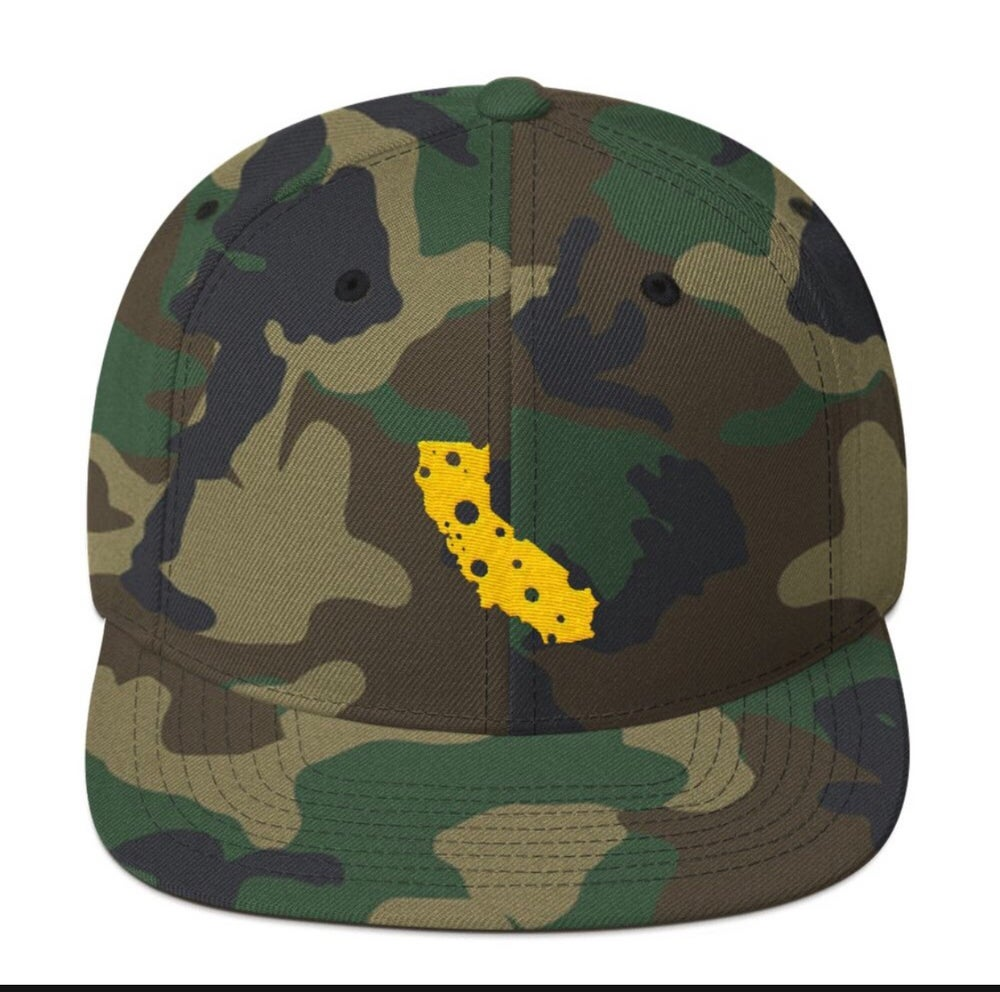 Image of California Cheese / Camo SnapBack