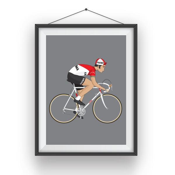 Image of Eddy Merckx A3 Giclee Print