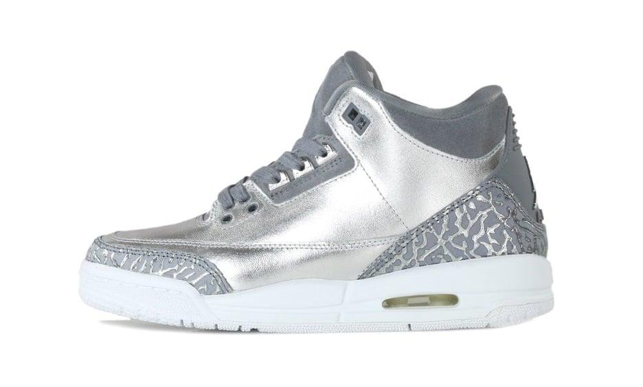 f34205ac9735 ... buy air jordan iii 3 retro premium hc metallic silver areags a44e6 8834d
