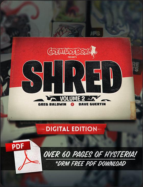 Image of SHRED: Volume 2 Digital Edition