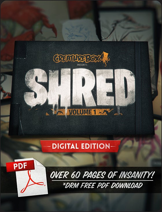 Image of SHRED: Volume 1 Digital Edition