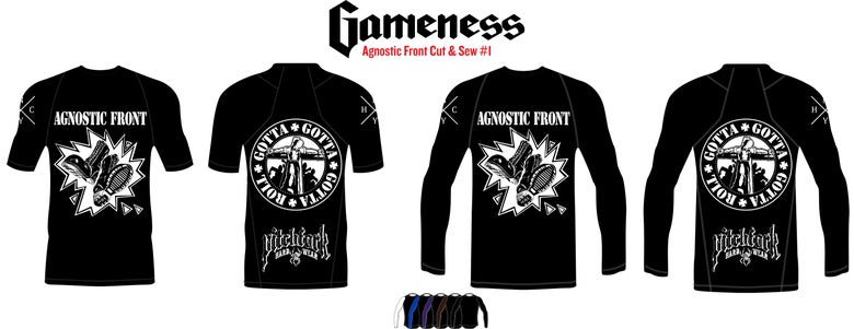 Image of NYHC Rashguards Batch #2 - Agnostic Front