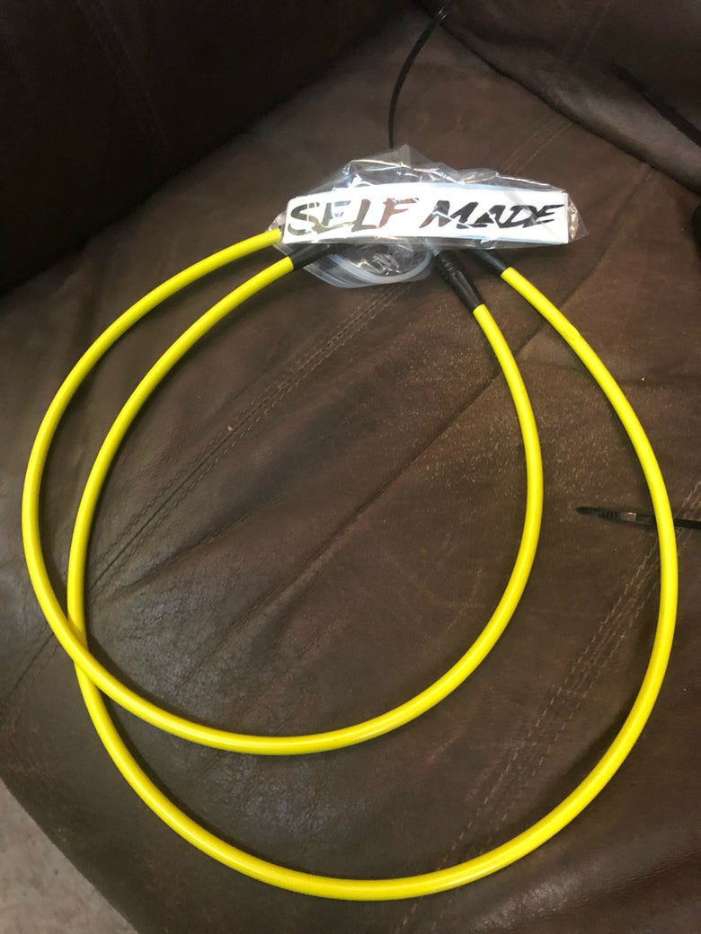 Image of Suzuki DRZ400SM/S Stainless Steel Brake lines