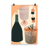Bottle and Corks PRINT