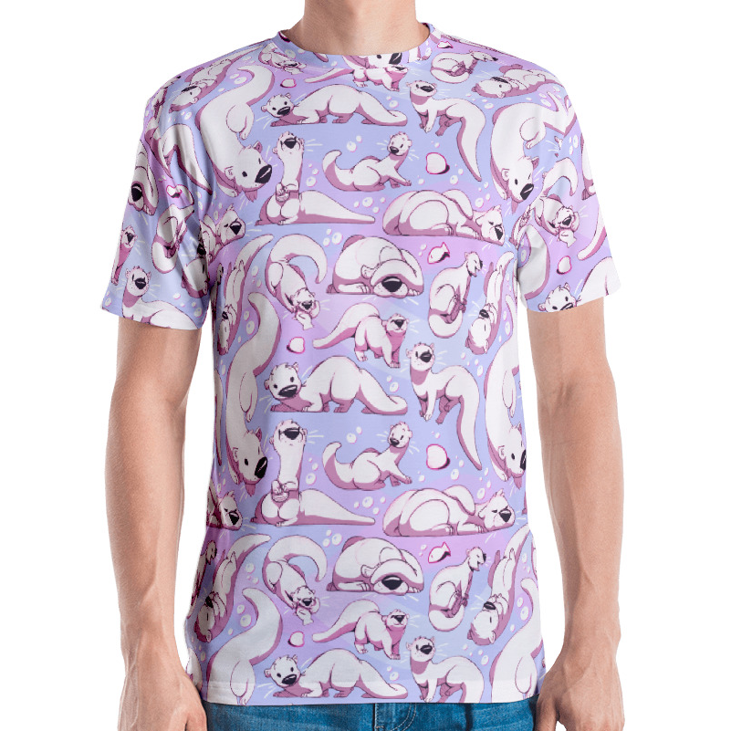 Image of Otters All Over Tee