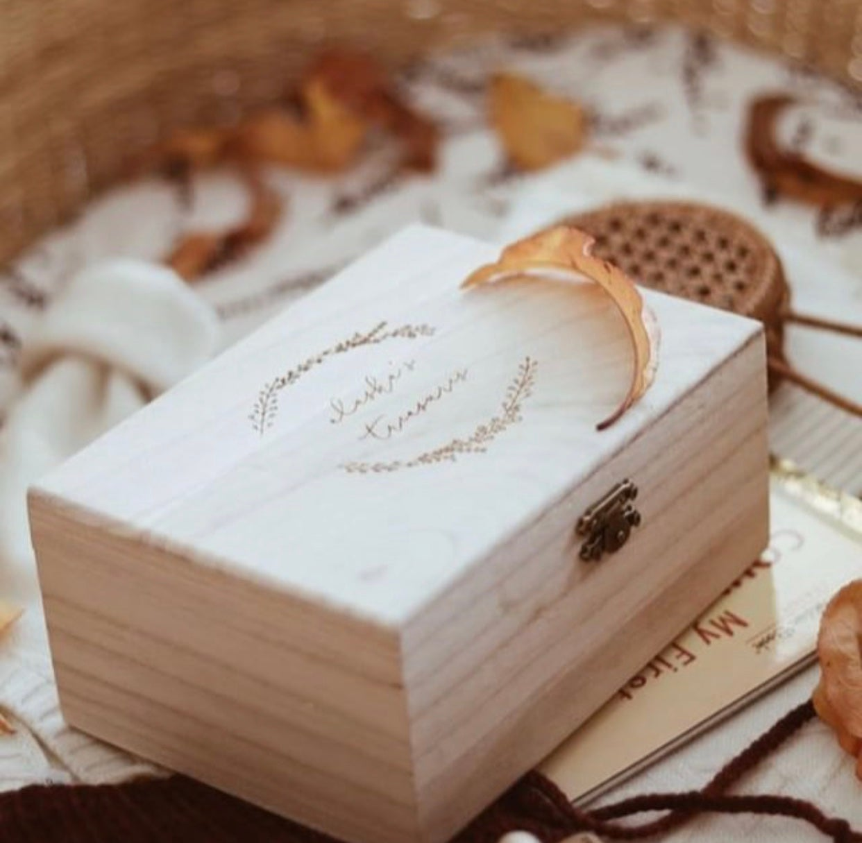 Image of PERSONALISED TREASURE BOX | PREORDER