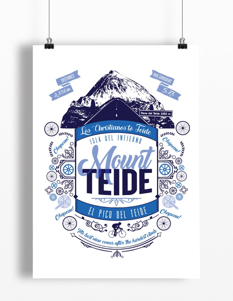 Image of Mount Teide print - A4 or A3