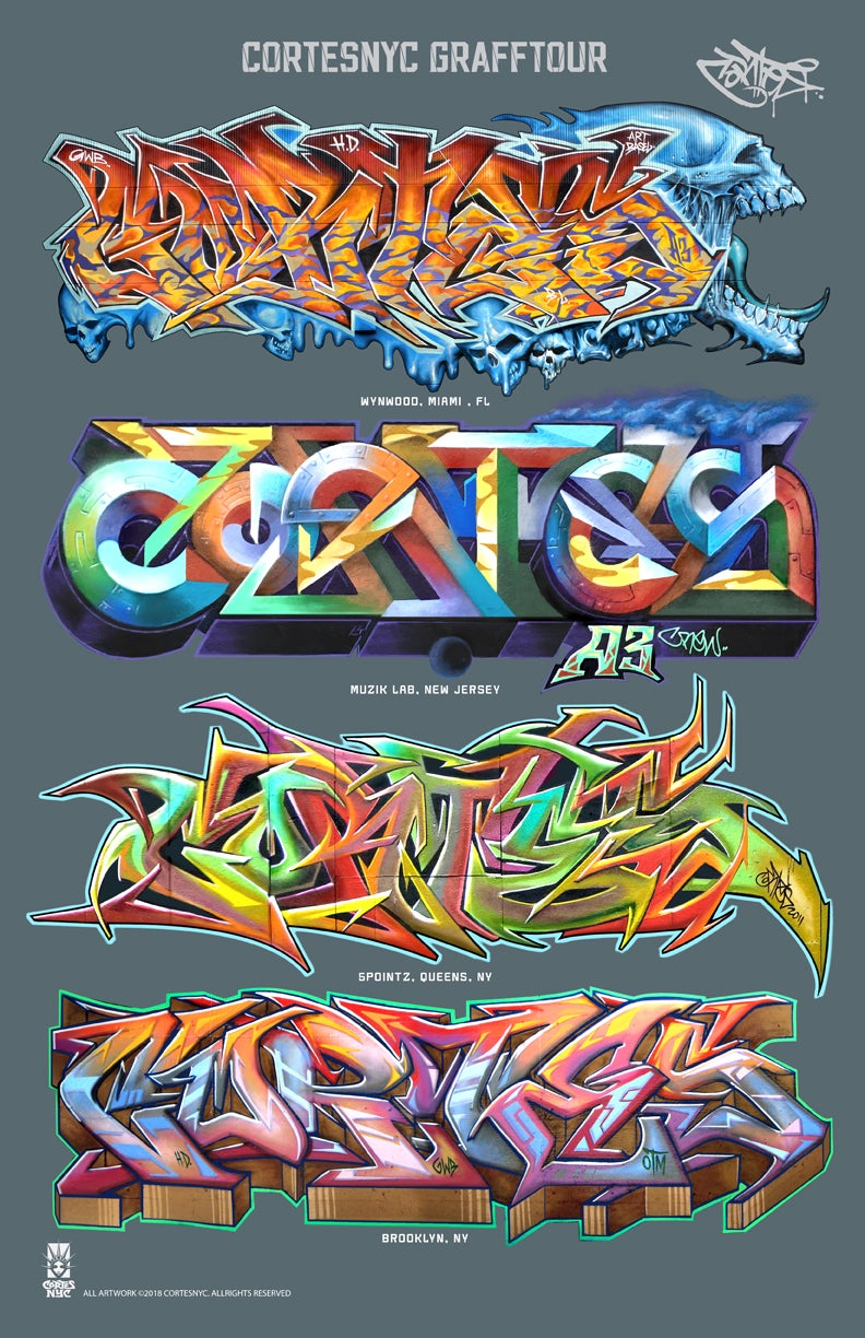Image of GraffTour 1 (poster)
