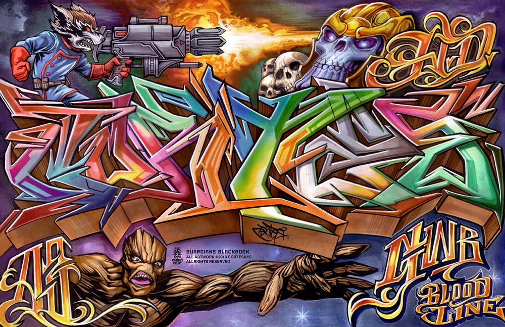 Image of Guardians Of Graffiti (poster)