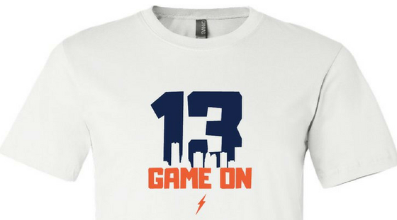 "Image of Paul George ""Game On"" Tee"