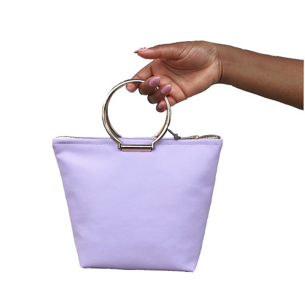 Image of Lavender Hyacinth Mini Tote