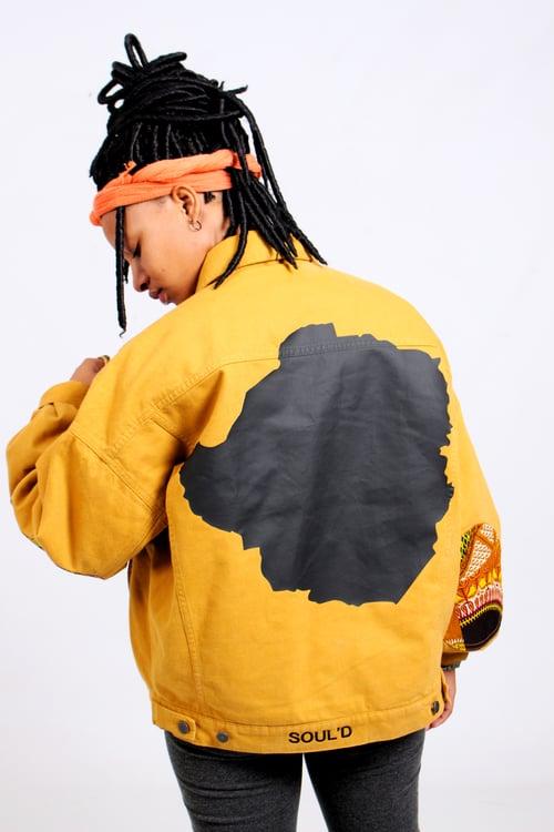 Image of Mustard TRIBE Jacket (M)