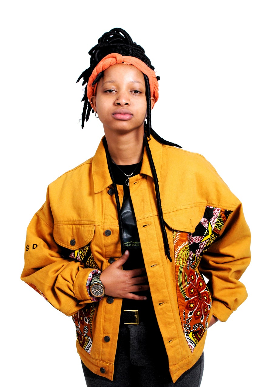 Image of Mustard TRIBE Jacket (M)