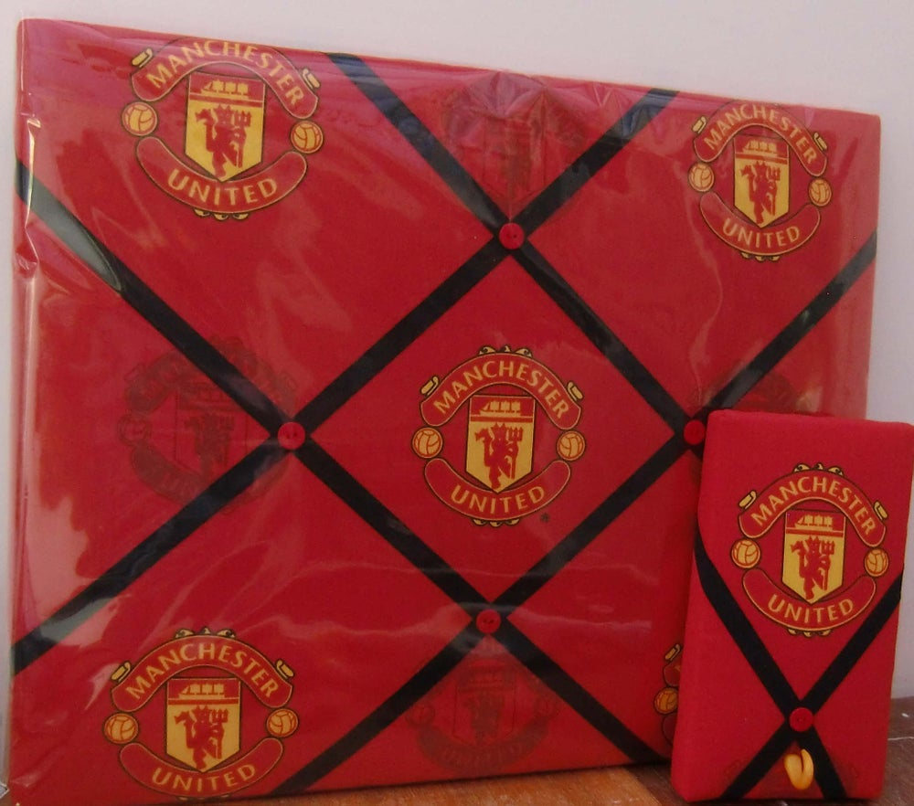 Image of Football Club Fabric Memo Boards