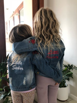 Image of 'Little Seeker' Limited Denim Jacket