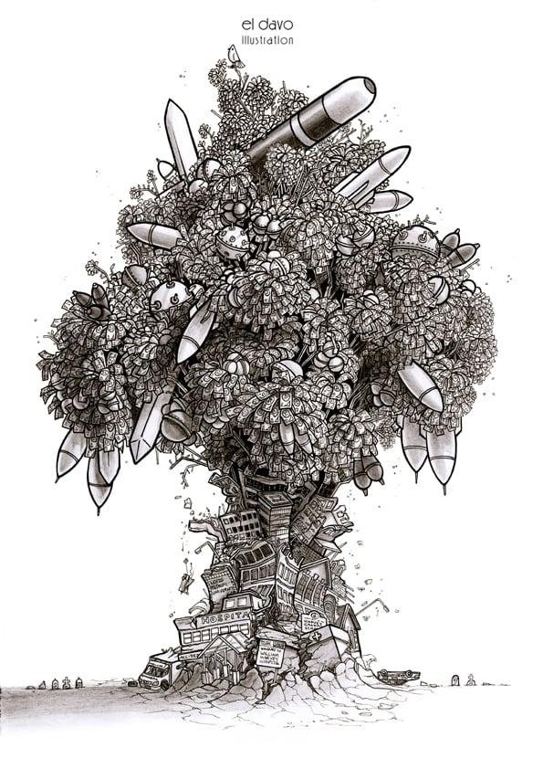 Image of Military Money Tree