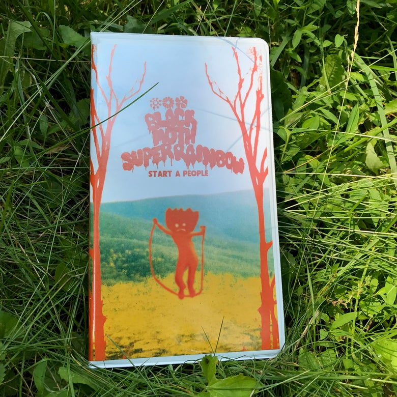 "Image of Black Moth Super Rainbow ""Start a People"" 2xCassette"