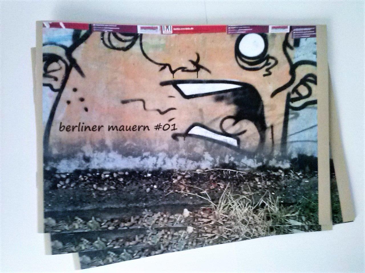 Image of Berliner Mauern Zine #01