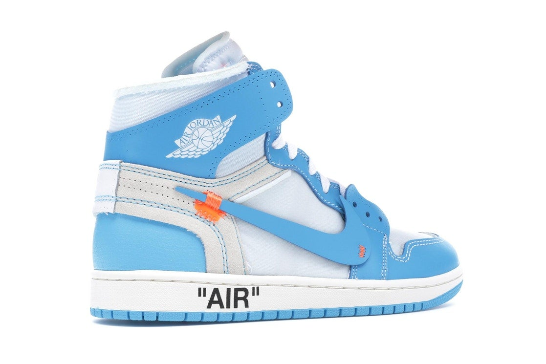 677ca87970bfe6 Image of Jordan 1 Retro High Off White UNC University Blue. US10.5 ...