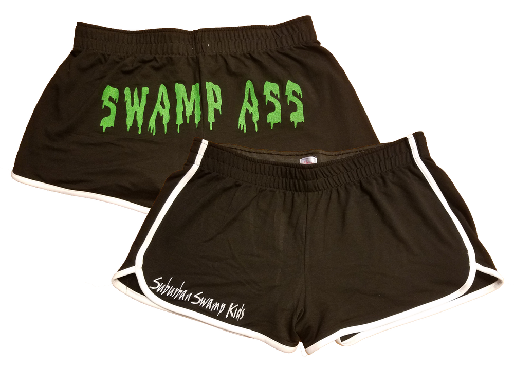 low priced 473ec a1e9d Image of SWAMP ASS Booty Shorts