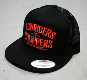 Image of LOWRIDERS -Y- CHOPPERS - SNAPBACK MESH