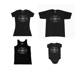 Image of Triple Nickel 555      T-Shirts        Tanks      Racer Baby